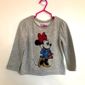 GAP Disney Minnie Mouse Sweater - Size 3T